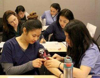 JVS student nurses