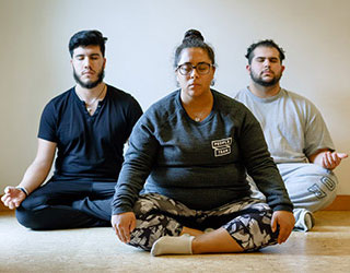 guys meditation in YUBA meditation program